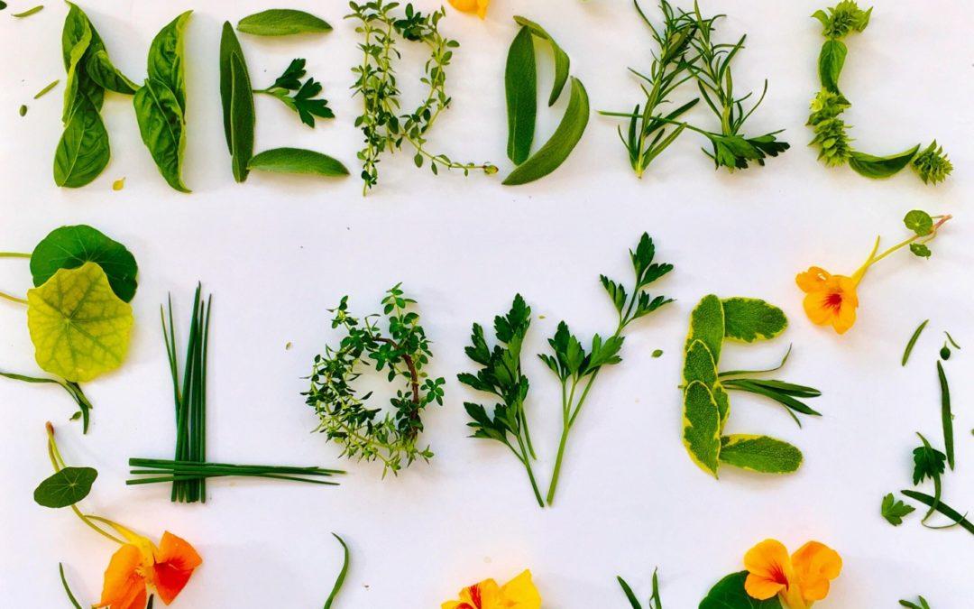 Fresh herbs spelling Herbal Love