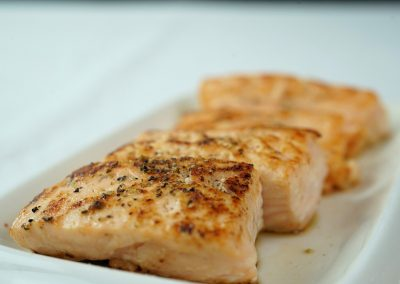 Salmon in Parchment for your Heart