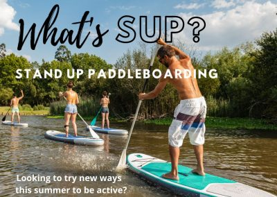 SUP Is All The Rage